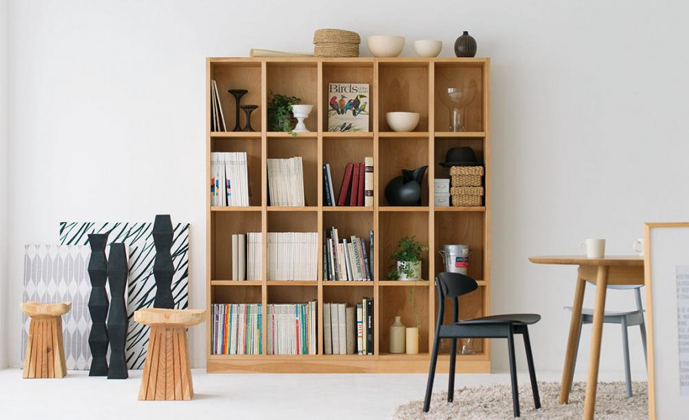 Solid Home Library System 展示しました。